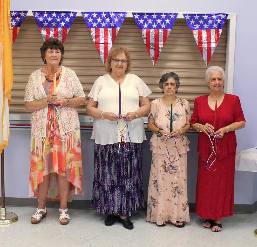 Waggaman Knights of Columbus council installs officers _lowres