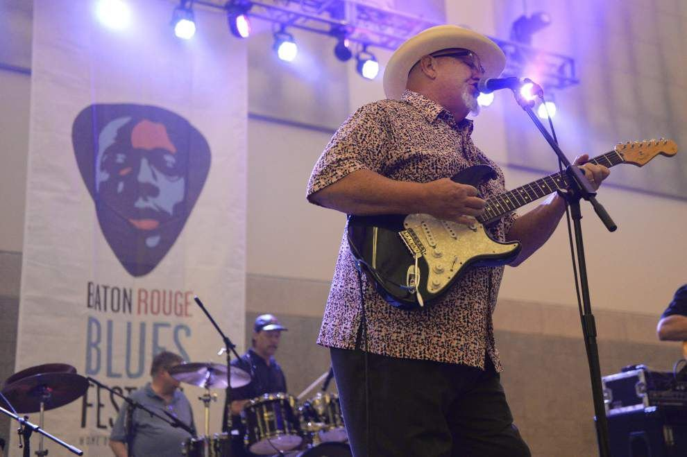 Baton Rouge Blues Festival forced indoors for first time, but patrons still enjoy the show _lowres