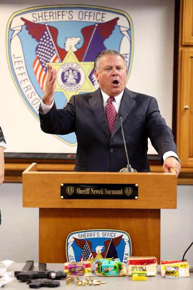 'Innocent people are going to get killed if this crap continues,' Jefferson Parish Sheriff Newell Normand says after fatal Harvey shooting _lowres