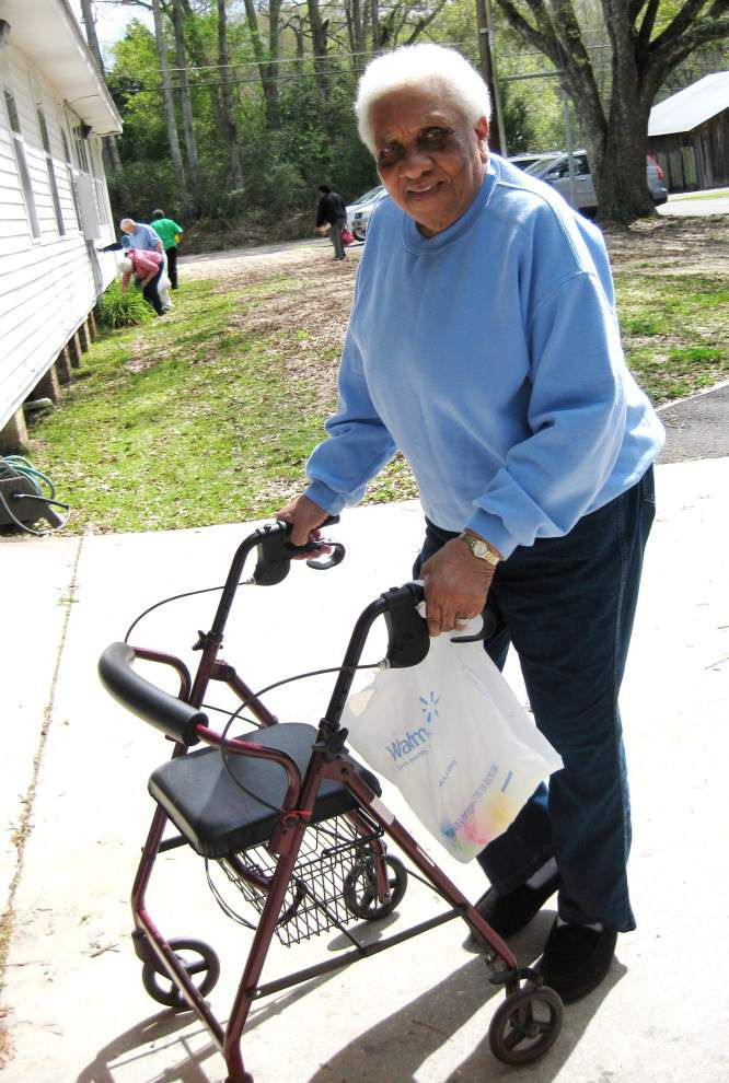 East Feliciana Council on Aging holds Easter party for seniors _lowres