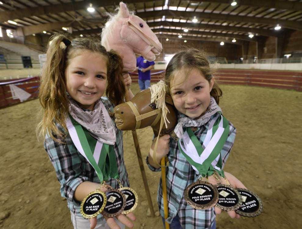 Photos: Bull riding, barrel racing part of BREC's Stick Horse Rodeo Saturday _lowres