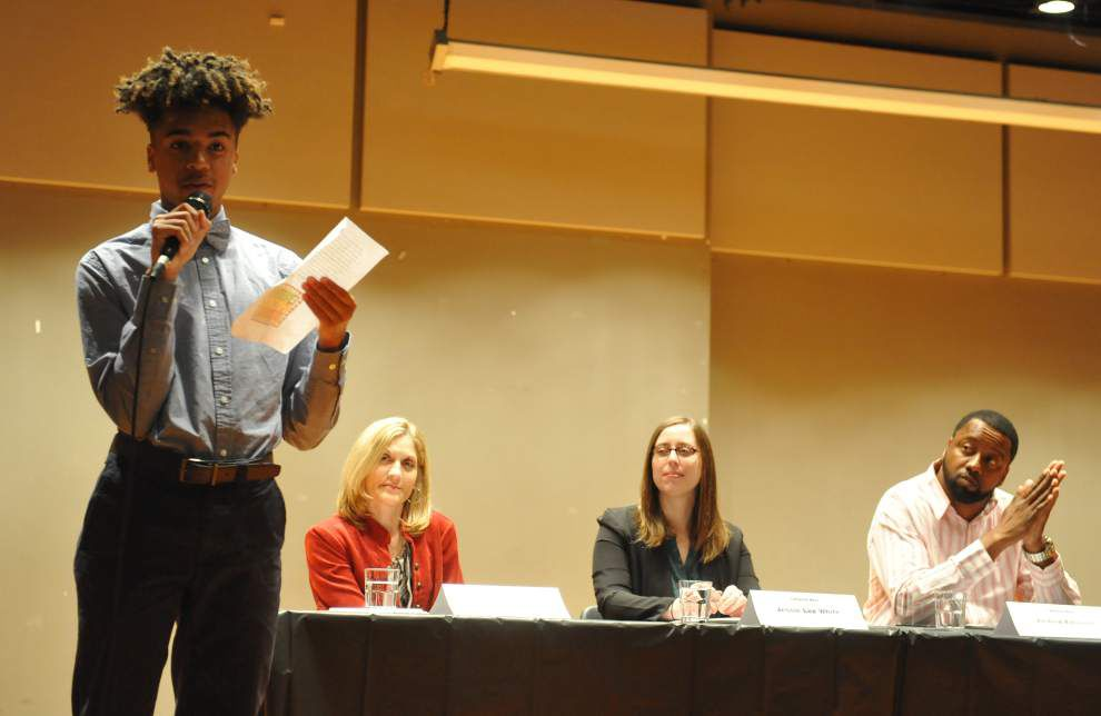 Lafayette panel examines ways to deal with juvenile crime _lowres