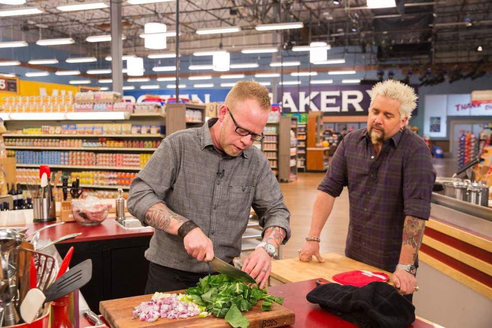 Baton Rouge chef Chris Wadsworth get in the 'Grocery Games' on Food Network _lowres