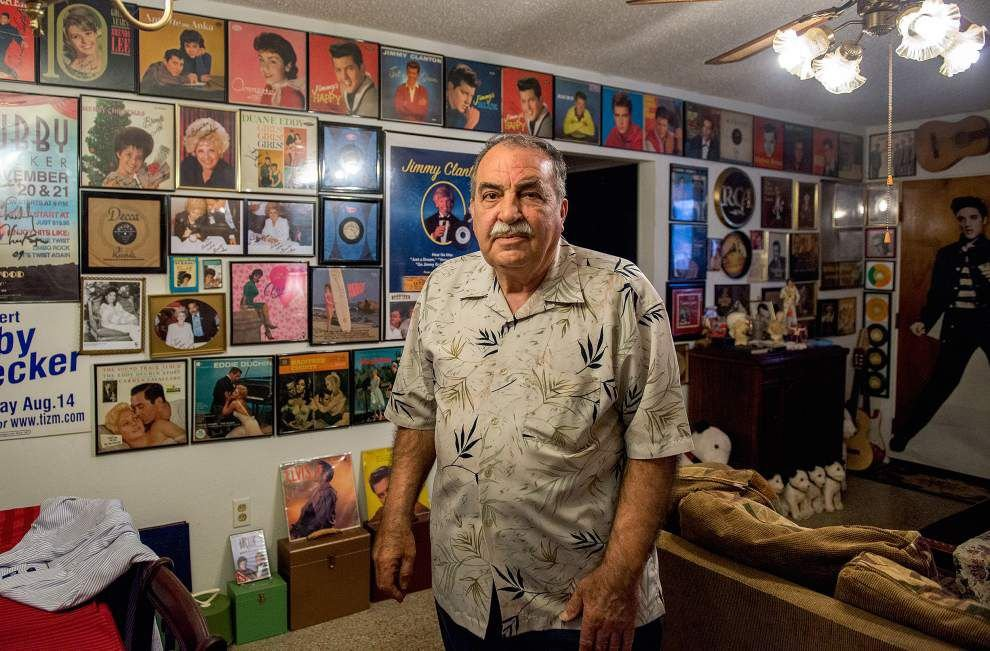 New Orleans man proud of his 1950s music, memorabilia collection _lowres