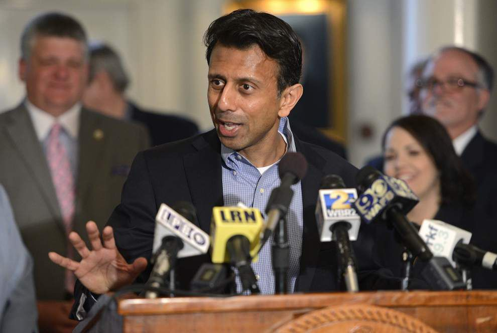 Washington Watch: Campaign Legal Center 'very well may file a complaint against' Bobby Jindal for rules violation related to presidential contenders, finances _lowres