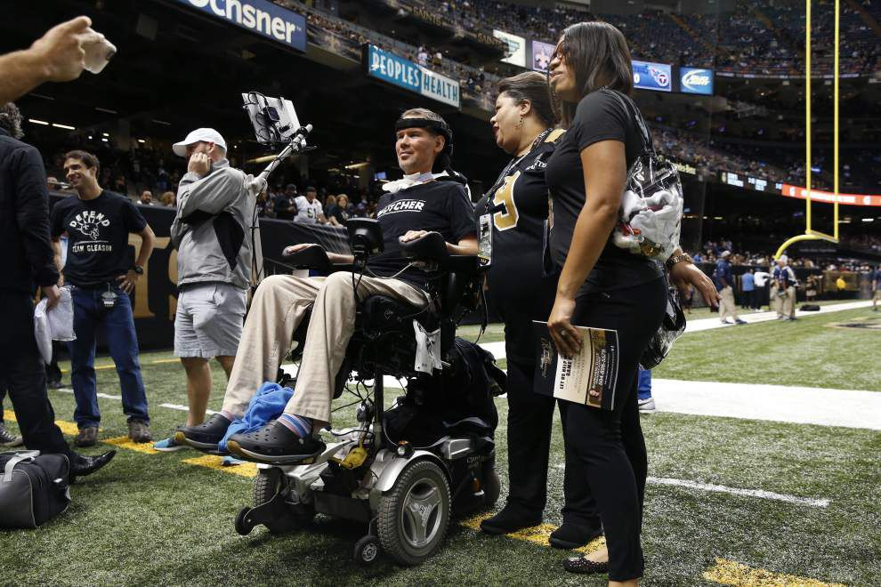 Steve Gleason film to premiere at Sundance had roots as video journal for former New Orleans Saint's son _lowres