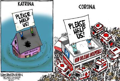 Walt Handelsman: Please Help Us!!