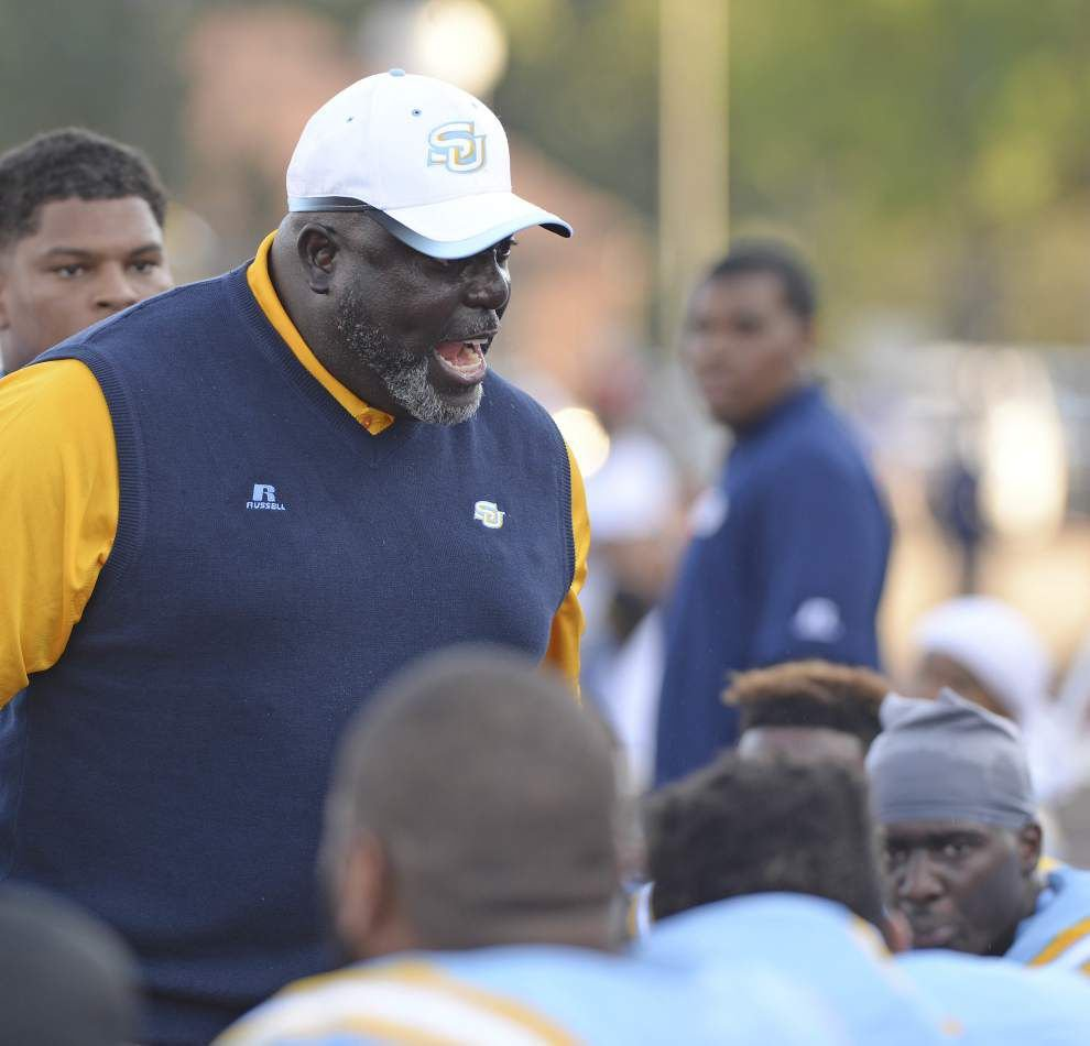 Southern coach Dawson Odums on the Jaguars homecoming game against Prairie View: 'It will be very disappointing if we don't get 31,000 (fans)' _lowres
