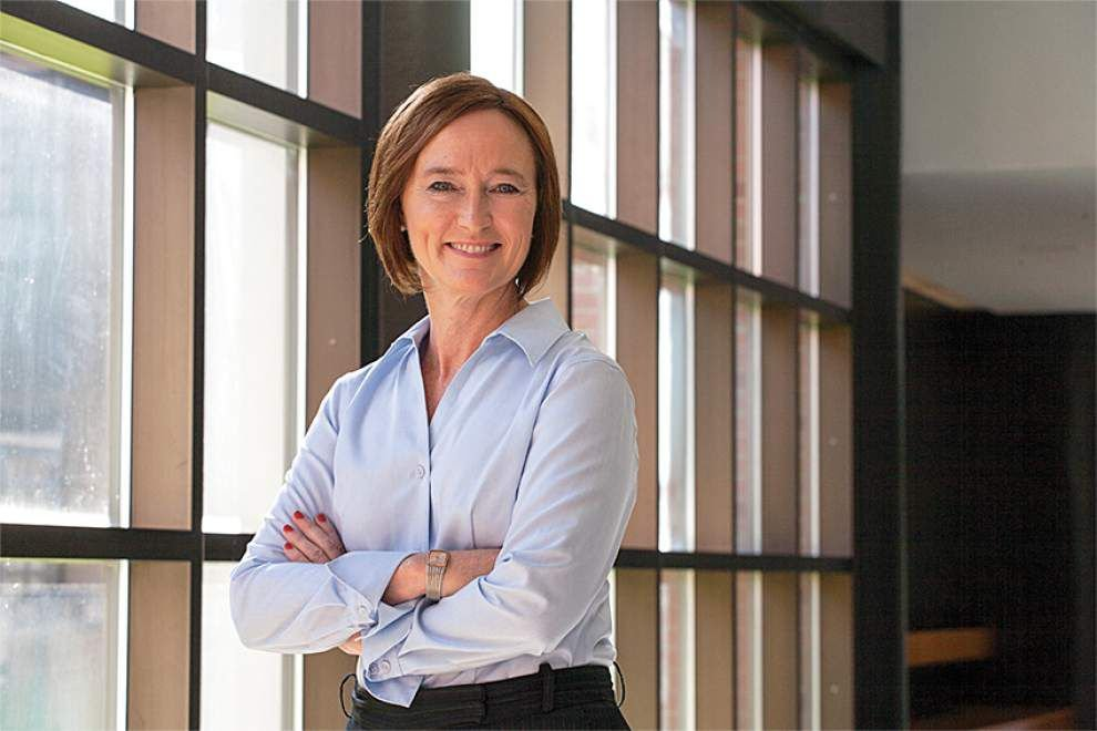 Xavier names former Tulane associate dean Anne McCall as new provost _lowres