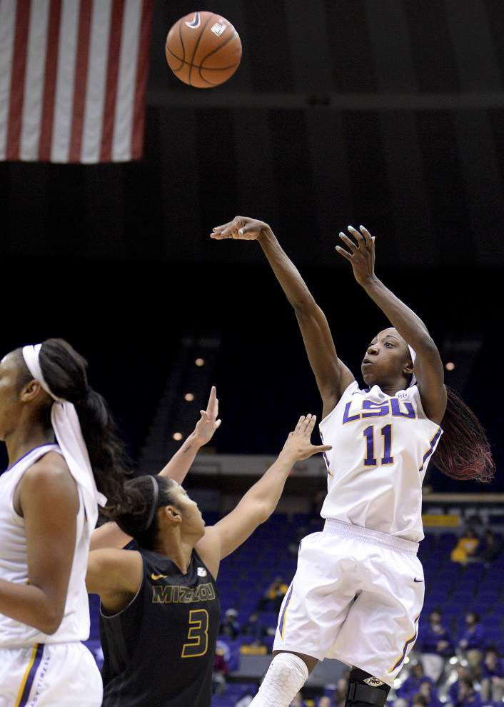 LSU women still have a shot at the No. 3 seed in the SEC _lowres