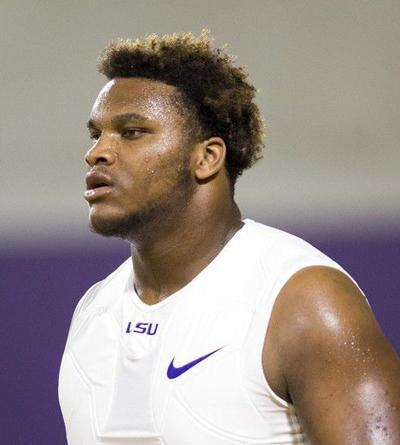 LSU suspends starting right guard Ed Ingram 'indefinitely'
