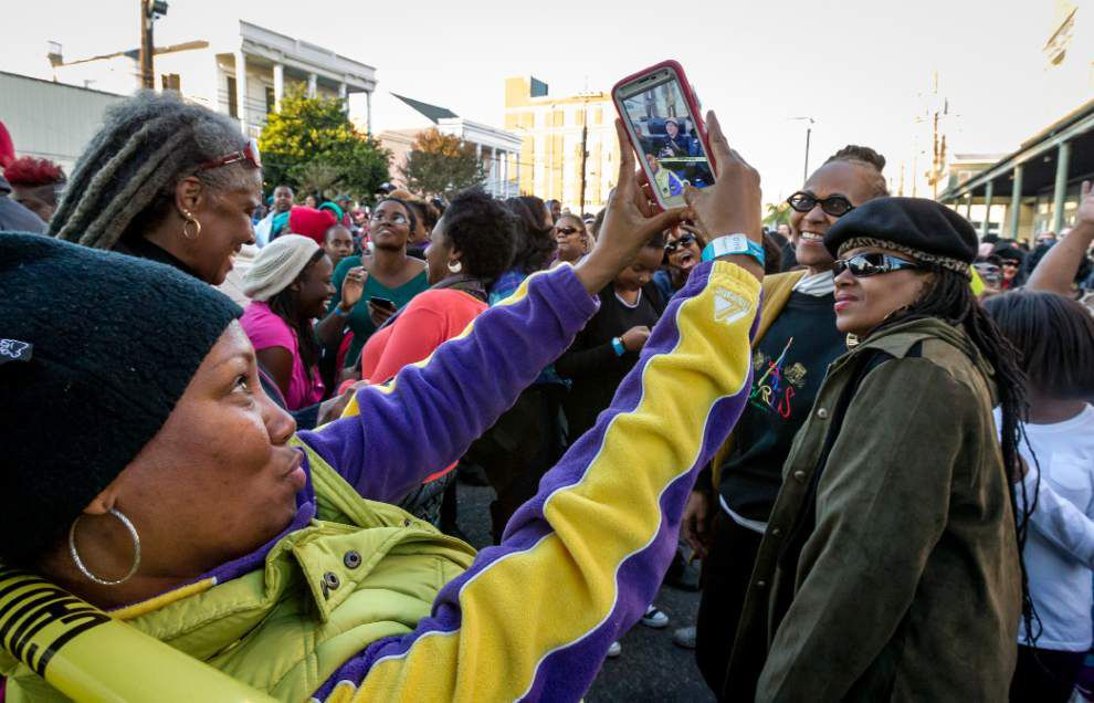 Big Freedia leads world-record number of twerkers in New Orleans _lowres