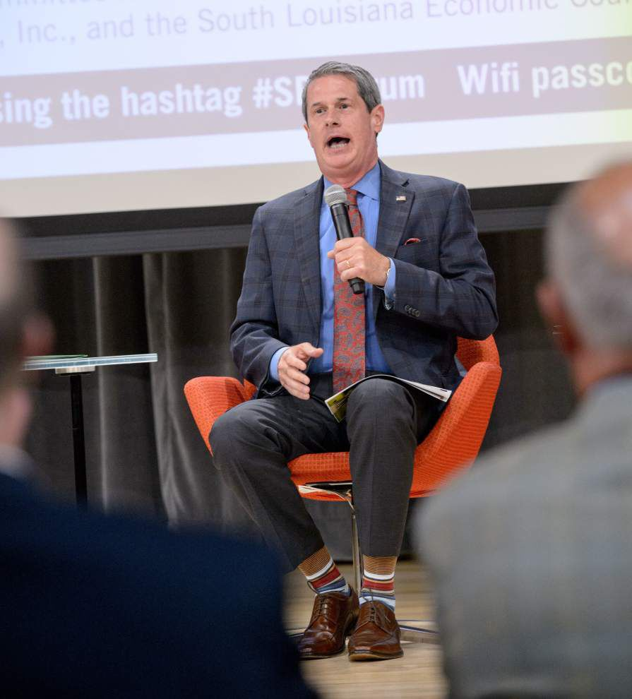 Dennis Persica: David Vitter has catchy murders-monuments slogan in tussle with New Orleans Mayor Mitch Landrieu _lowres