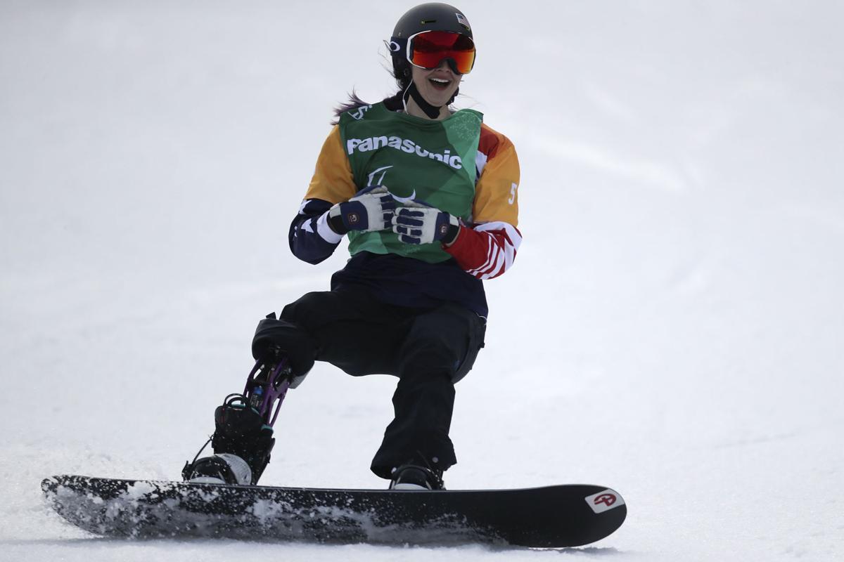 Pyeongchang Paralympics Snowboard