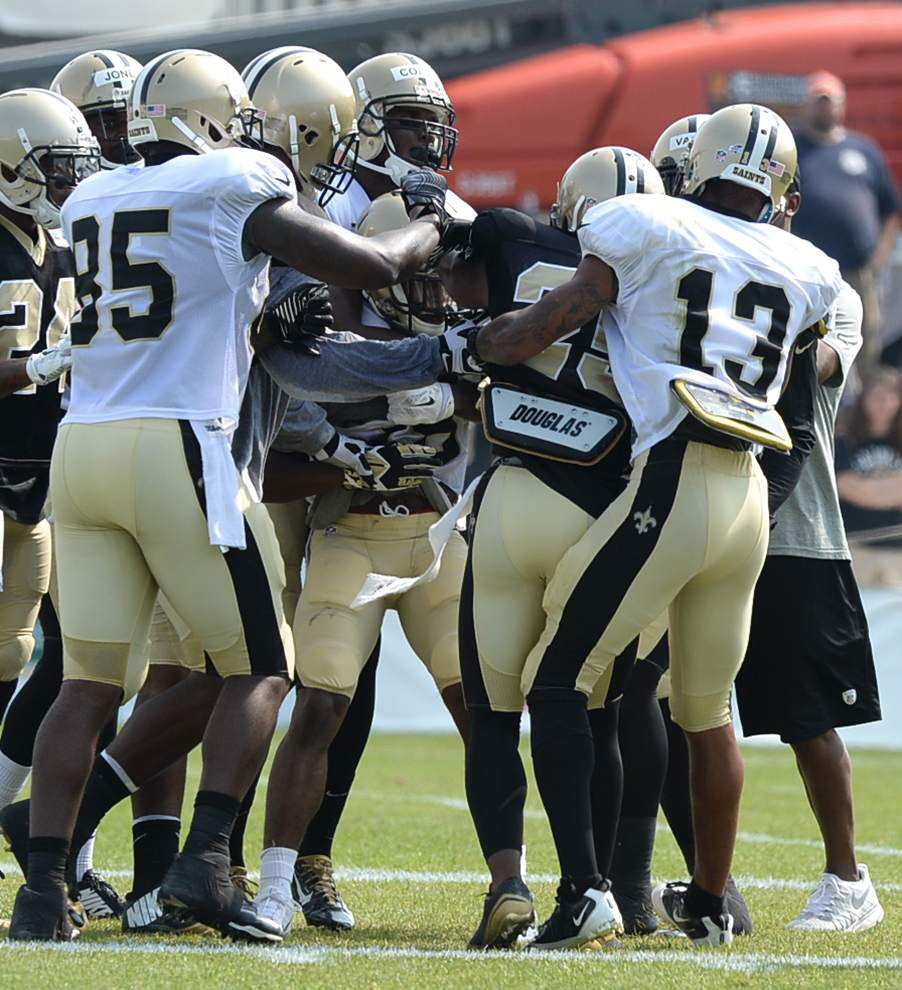 Saints ready to hit another team — and preseason opener at Rams is on tap _lowres