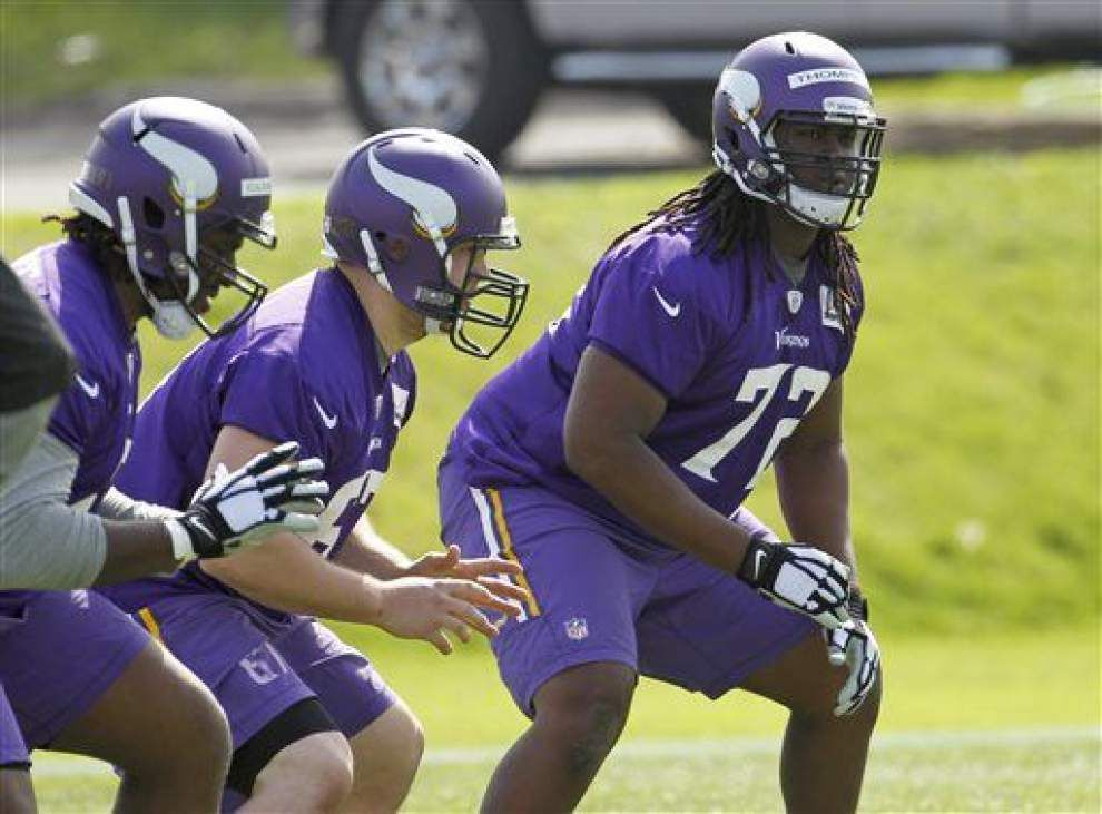 Saints sign former Vikings draft pick Tyrus Thompson after minicamp tryout _lowres
