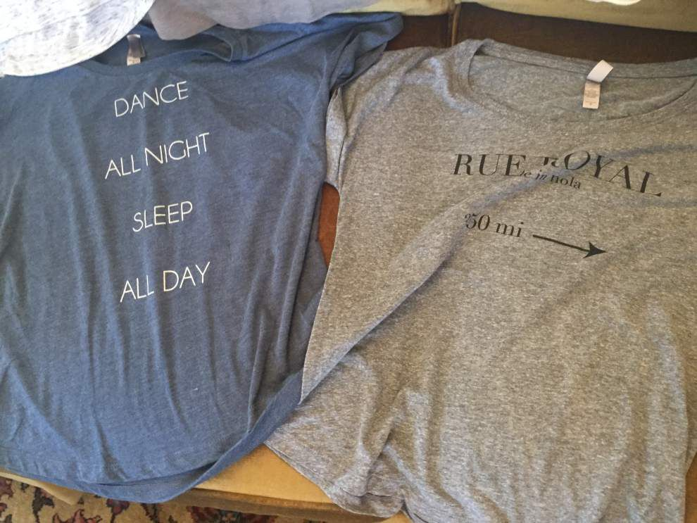 Perfectly Taylored  LSU fashionista turns entrepreneur with new line of T-shirts _lowres