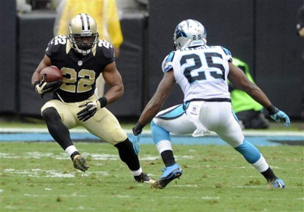 Saints restructure contract of running back Mark Ingram to create cap room _lowres