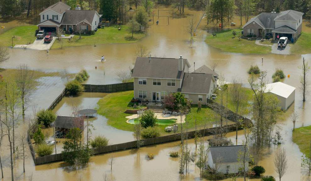 Flooding continues in areas of eastern St. Tammany; federal disaster aid promised _lowres