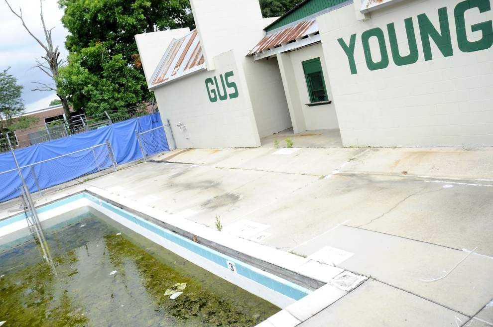 Residents rally: Decision not to repair or replace Gus Young pool 'devastating' for economically depressed area _lowres