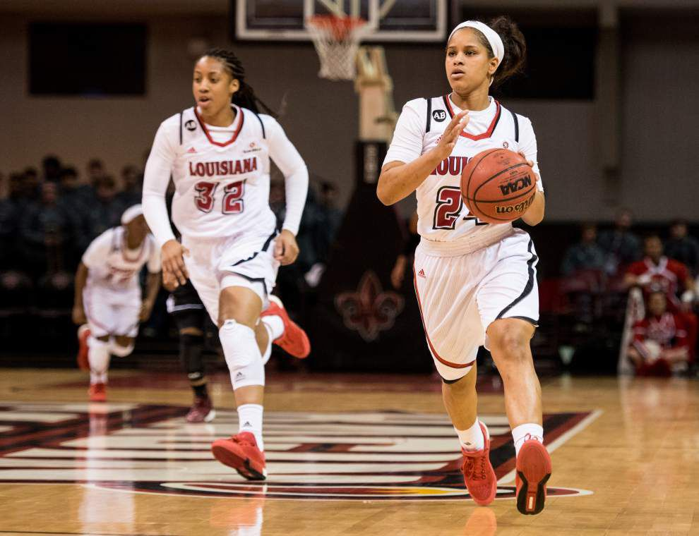 Cajuns women rally to topple Troy 56-53 _lowres