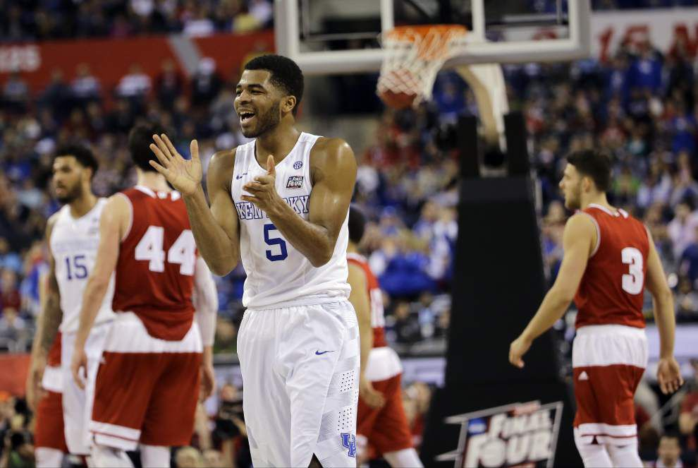 College basketball notebook: Kentucky's Andrew Harrison apologizes for racial slur _lowres