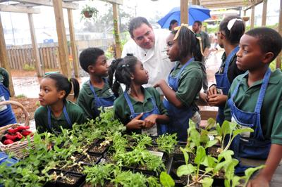 Emeril Lagasse Foundation launches nationwide Culinary Garden & Teaching Kitchen initiative
