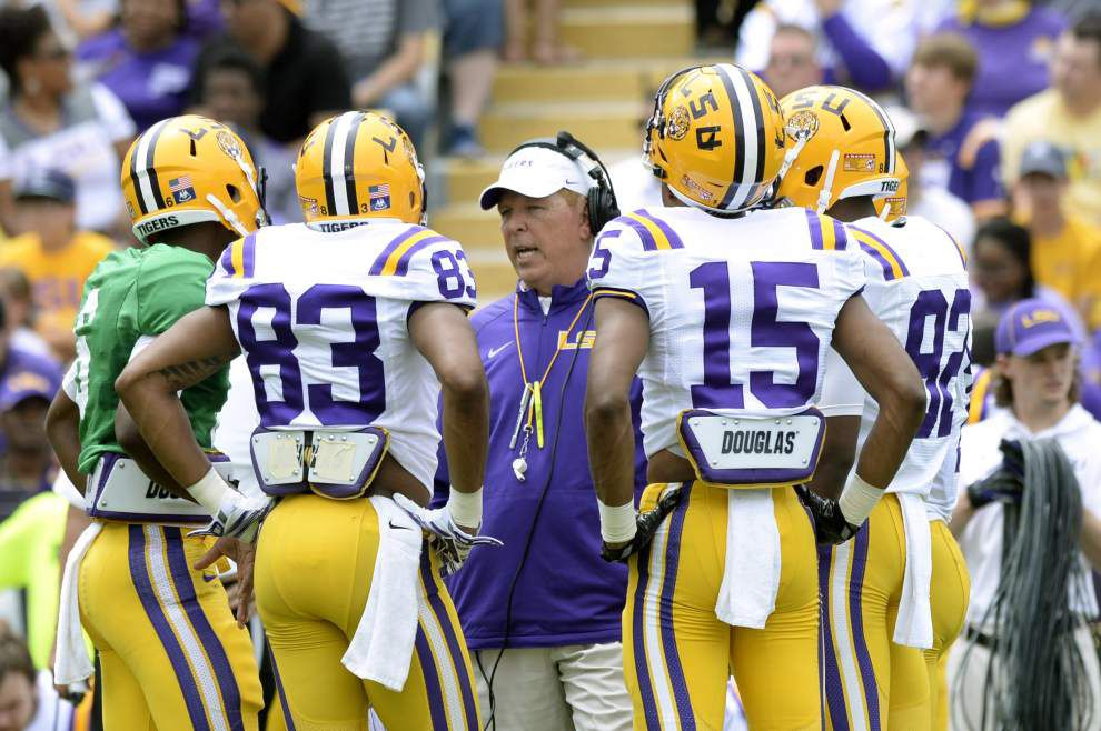 Rabalais: Tough to separate reality from illusion in an LSU spring game full of encouraging signs _lowres