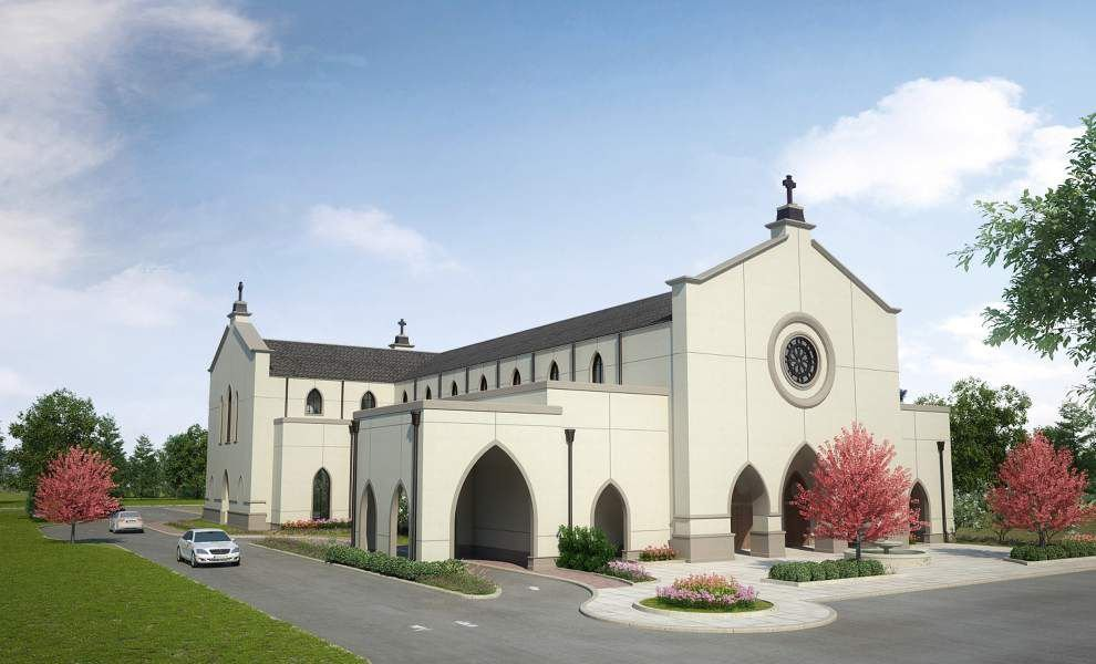 Construction a sign of growth for Catholic Diocese of Baton Rouge _lowres