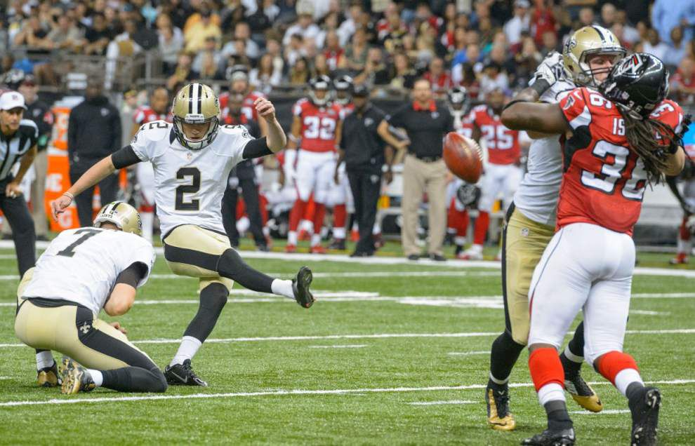 Sean Payton: 'Something missing' from kicker Zach Hocker's performance last few weeks _lowres