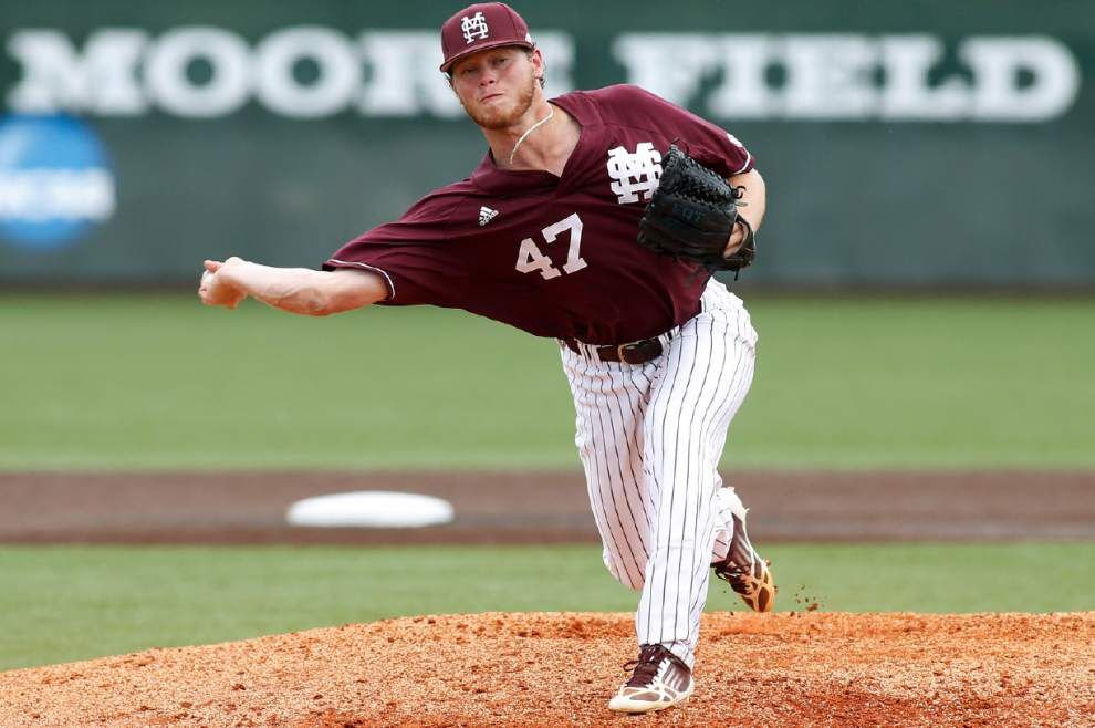 MSU reliever throws four perfect innings in 5-2 victory _lowres