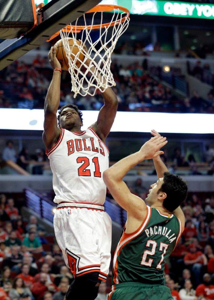 Bulls, Wizards, Rockets win first-round playoff games _lowres