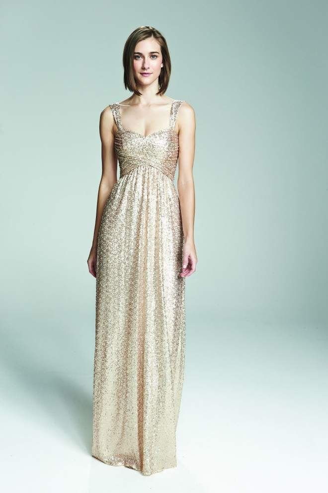 Wedding glitz is in: 'If the bride is sparkly, so are the bridesmaids' _lowres
