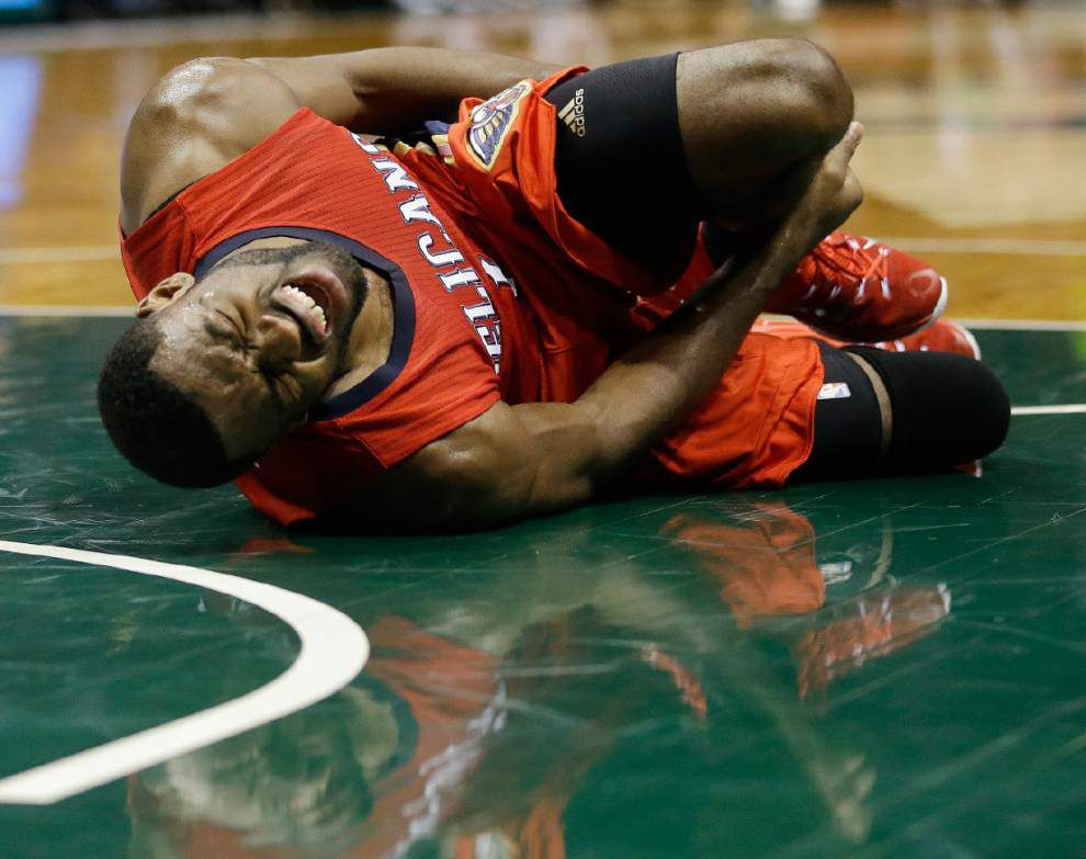 Notebook: Pelicans guard Tyreke Evans tests ankle, likely to play _lowres