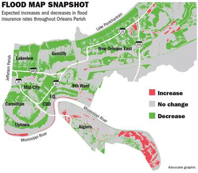 New Orleans\' revised flood maps set to slash insurance rates for ...