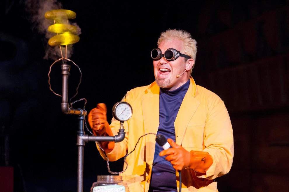 Math + science + comedy = Doktor Kaboom _lowres