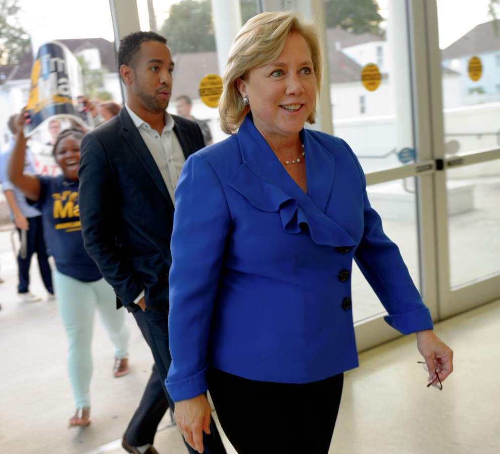 Mary Landrieu, Rob Maness differ sharply during U.S. Senate debate _lowres