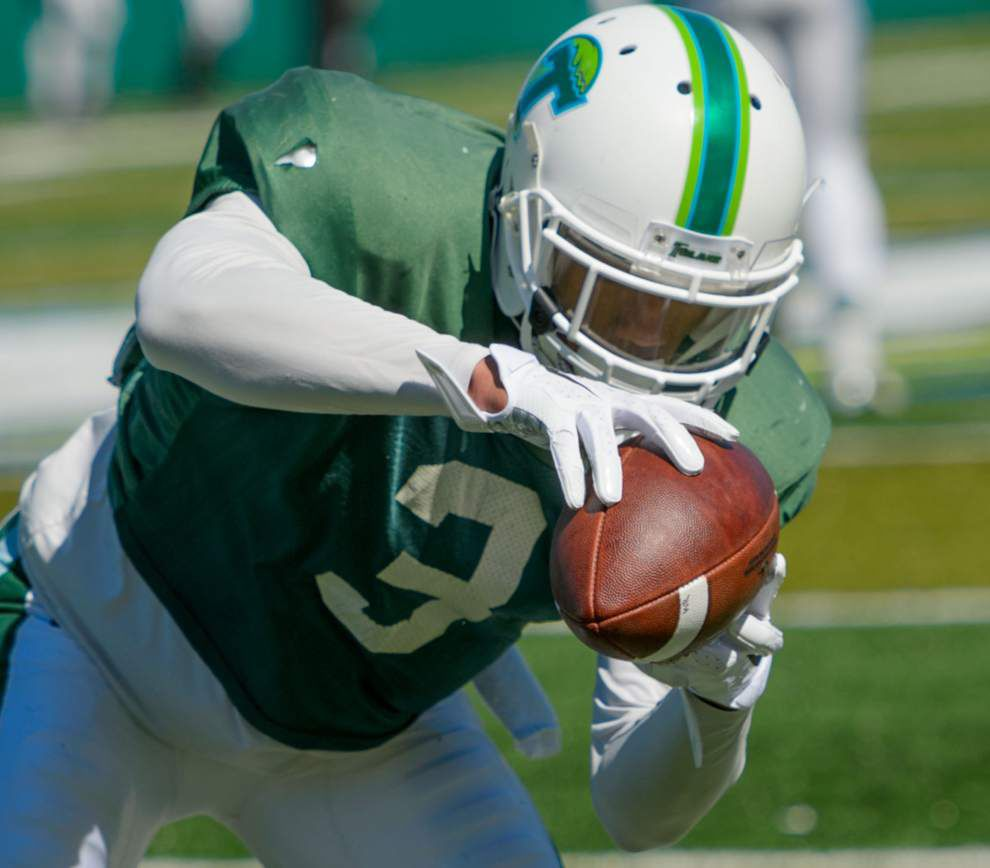 Back from injuries, Sherman Badie looks to be double trouble for Tulane _lowres