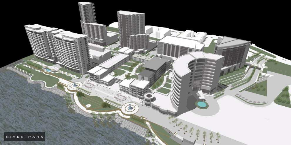 Downtown Baton Rouge property pitched as swanky site for hotels, restaurants seized, set for sheriff's auction _lowres