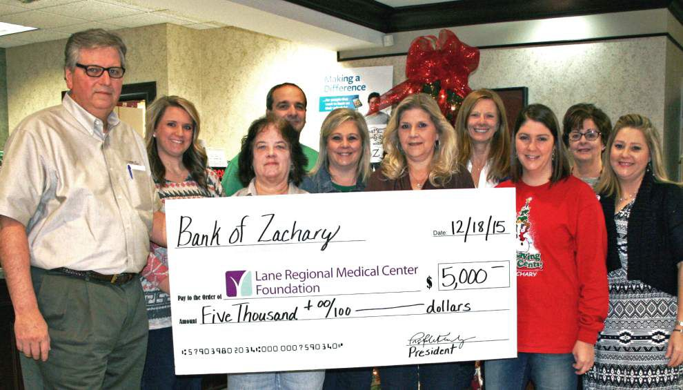Bank of Zachary employees give back _lowres