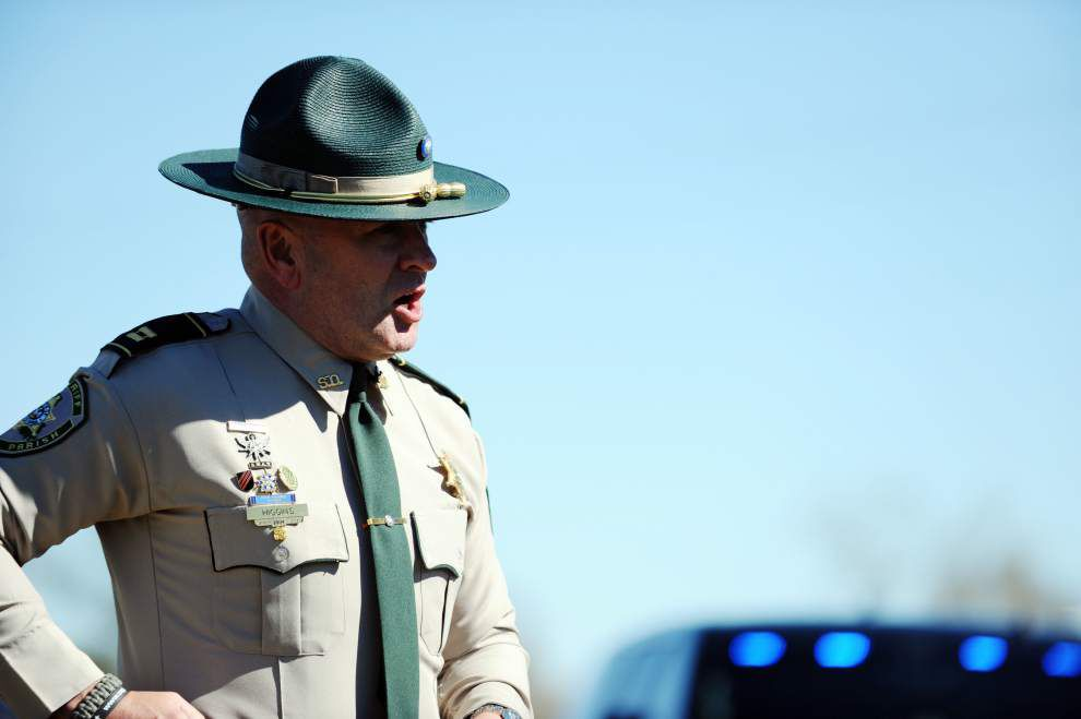 Photos: Behind the scenes with Capt. Clay Higgins while filming a Crimestoppers segment _lowres