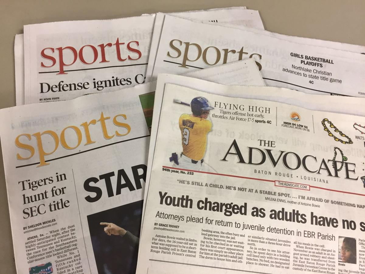 The Advocate's Rod Walker earns top honors at LSWA awards
