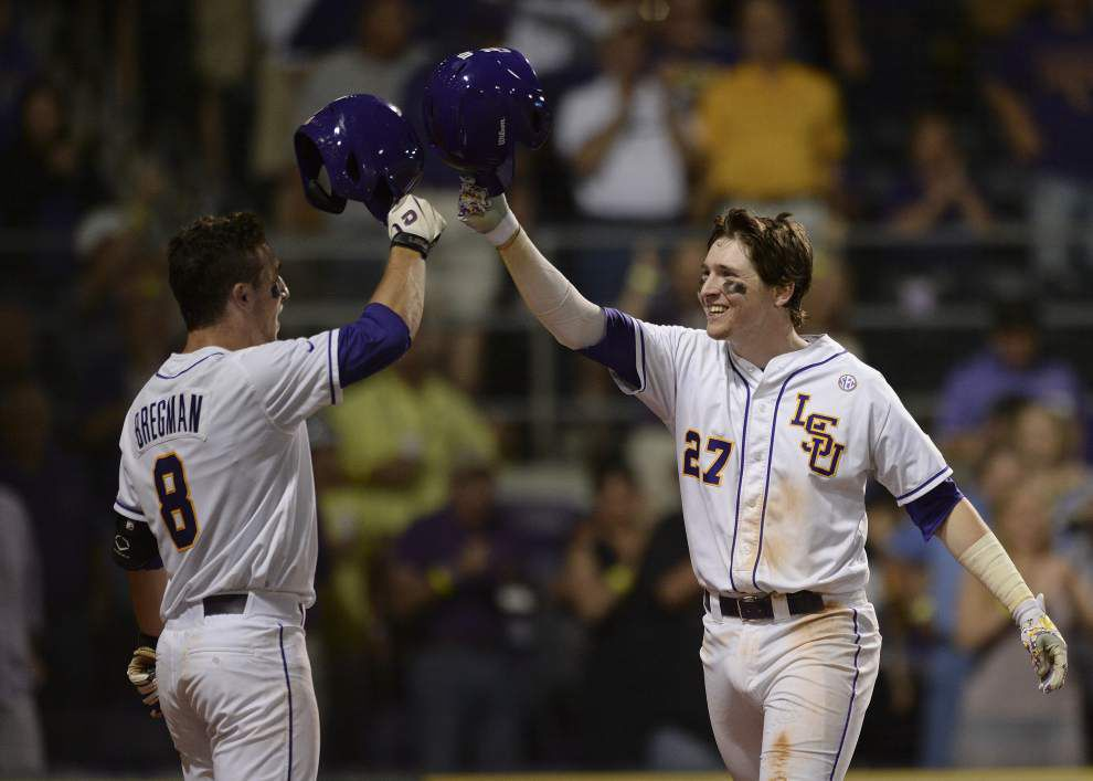 Two top reserve infielders, Danny Zardon, Grayson Byrd, transferring from the LSU baseball team _lowres