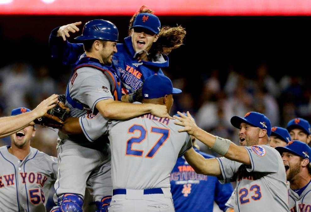 Mets top Dodgers, join Cubs in NLCS _lowres