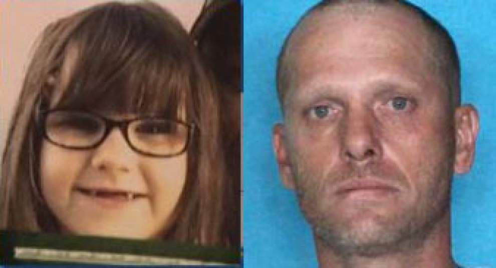 6-year-old girl abducted in Texas found safe in Louisiana; suspect taken into custody _lowres