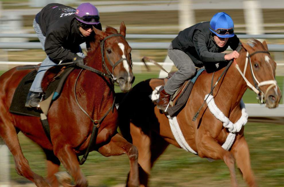 Off and running: Fair Grounds track kicks off season _lowres