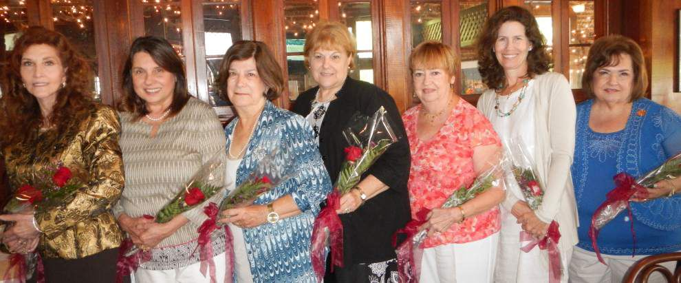 Elenian Club installs 2014-15 officers during luncheon in Mandeville _lowres