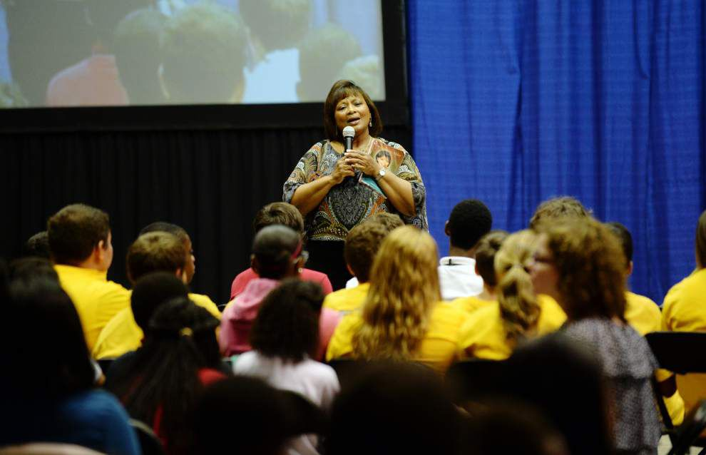 Rural Acadiana eighth graders get life lessons at Back-to-School Summit _lowres