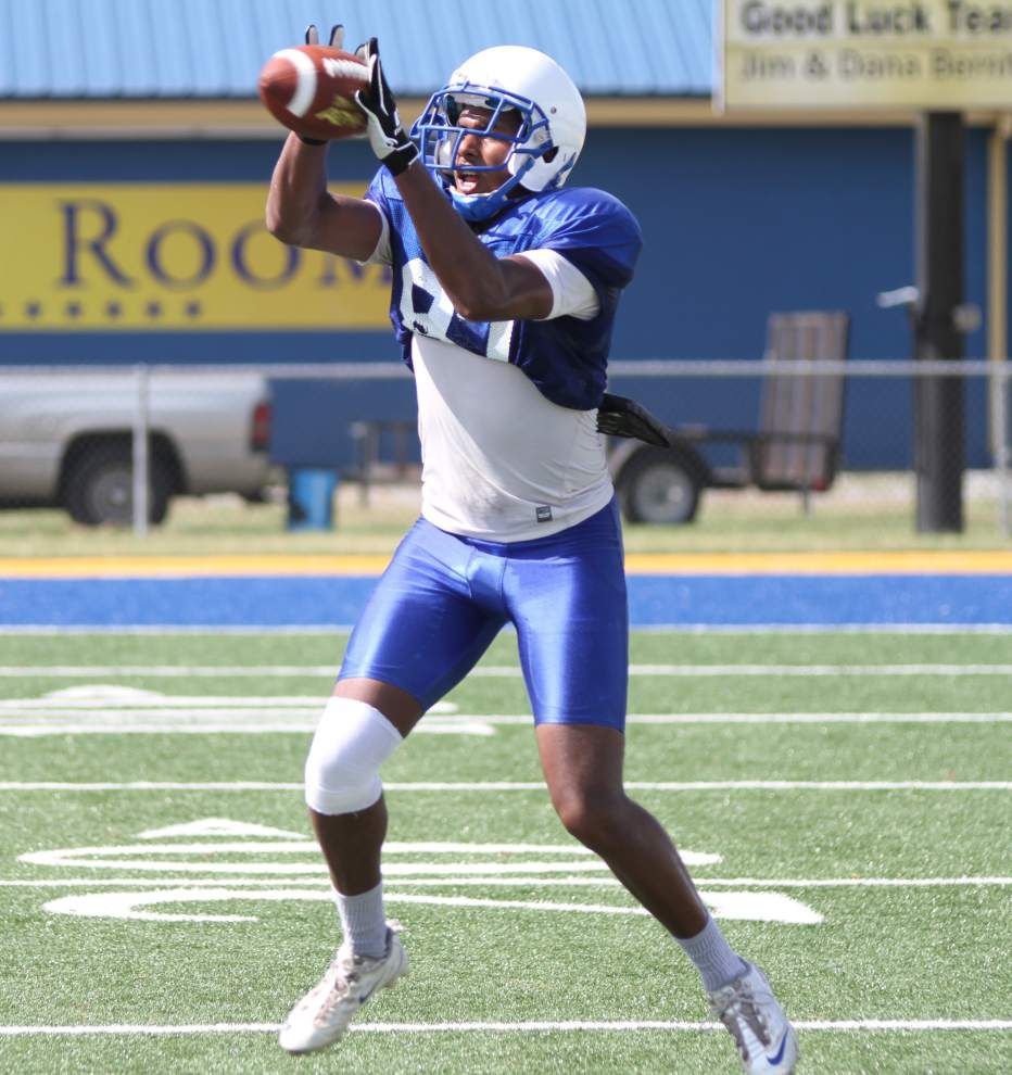 Southern receiver Randall Menard hopes for a breakout year ... after his toe injury and a long road back _lowres