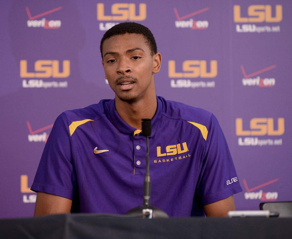 Video: LSU forward Jordan Mickey is looking forward to the Tigers' exhibition game against Morehouse _lowres